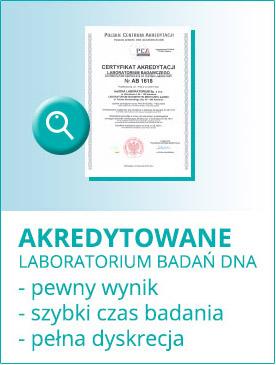 Badania DNA w akredytowanym laboratorium a pewność wyniku
